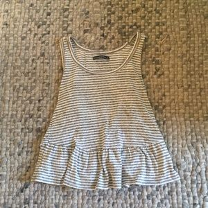 Abercrombie and Fitch peplum tank